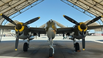 Photo ID 171721 by W.A.Kazior. Private Planes of Fame Air Museum Lockheed P 38J Lightning, N138AM