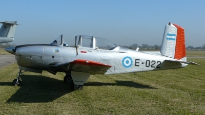 Photo ID 20978 by Martin Kubo. Argentina Air Force Beech T 34A Mentor, E 022