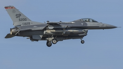 Photo ID 172394 by Bart van den Bogaert. USA Air Force General Dynamics F 16C Fighting Falcon, 90 0829