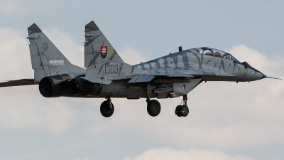 Photo ID 171911 by Alex van Noye. Slovakia Air Force Mikoyan Gurevich MiG 29UB 9 51, 1303