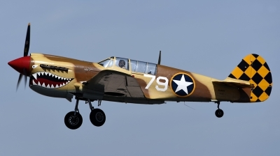 Photo ID 172042 by W.A.Kazior. Private Planes of Fame Air Museum Curtiss P 40N Warhawk, N85104