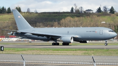 Photo ID 172076 by Jaysen F. Snow - Midwest Tail Chasers. USA Air Force Boeing KC 46A Pegasus 767 200LRF, N462KC