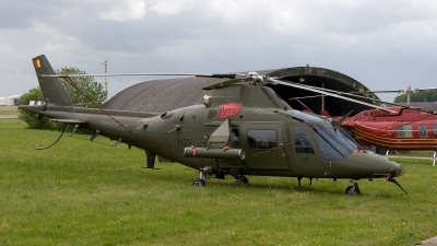 Photo ID 172285 by Jan Eenling. Belgium Air Force Agusta A 109HO A 109BA, H26