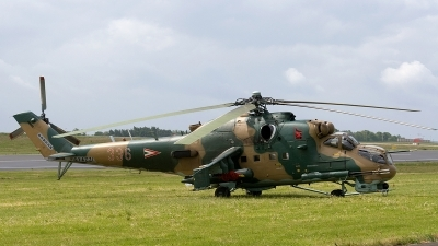 Photo ID 172390 by Jan Eenling. Hungary Air Force Mil Mi 24P, 336