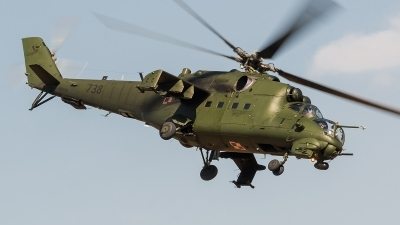 Photo ID 172355 by Alex van Noye. Poland Army Mil Mi 24V, 738