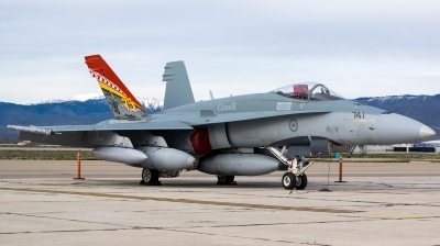 Photo ID 172380 by Colin Moeser. Canada Air Force McDonnell Douglas CF 188A Hornet CF 18A, 188741