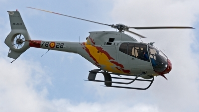 Photo ID 172471 by Jan Eenling. Spain Air Force Eurocopter EC 120B Colibri, HE 25 9
