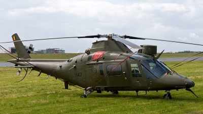 Photo ID 172474 by Jan Eenling. Belgium Army Agusta A 109HA A 109BA, H42