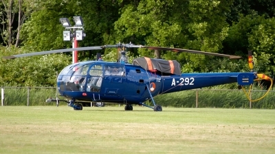 Photo ID 172484 by Sven Zimmermann. Netherlands Air Force Aerospatiale SA 316B Alouette III, A 292