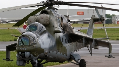Photo ID 172589 by Jan Eenling. Czech Republic Air Force Mil Mi 35, 7356