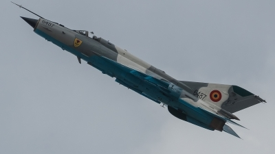 Photo ID 172634 by Alex van Noye. Romania Air Force Mikoyan Gurevich MiG 21MF 75 Lancer C, 6487