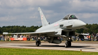 Photo ID 172682 by Jan Eenling. UK Air Force Eurofighter Typhoon FGR4, ZJ910