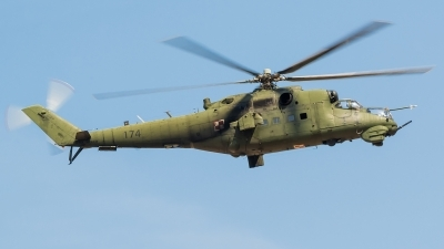Photo ID 172875 by Alex van Noye. Poland Army Mil Mi 24D, 174