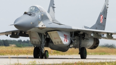 Photo ID 172717 by Alex van Noye. Poland Air Force Mikoyan Gurevich MiG 29A 9 12A, 70