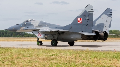 Photo ID 172719 by Alex van Noye. Poland Air Force Mikoyan Gurevich MiG 29A 9 12A, 70
