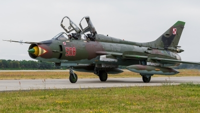 Photo ID 172721 by Alex van Noye. Poland Air Force Sukhoi Su 22UM 3K, 508