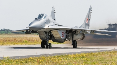 Photo ID 172891 by Alex van Noye. Poland Air Force Mikoyan Gurevich MiG 29A 9 12A, 92