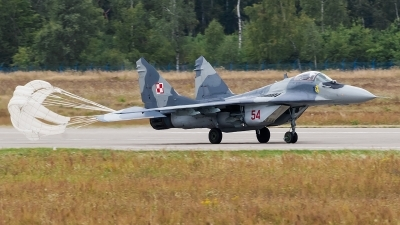 Photo ID 172887 by Alex van Noye. Poland Air Force Mikoyan Gurevich MiG 29A 9 12A, 54