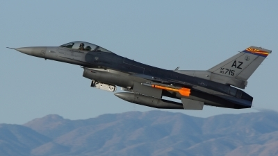 Photo ID 172909 by Lukas Kinneswenger. USA Air Force General Dynamics F 16C Fighting Falcon, 90 0715