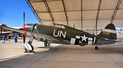 Photo ID 172884 by W.A.Kazior. Private Planes of Fame Air Museum Republic P 47G Thunderbolt, N3395G