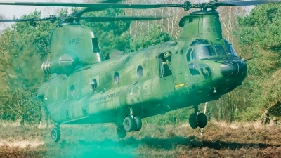 Photo ID 172831 by Alex van Noye. Netherlands Air Force Boeing Vertol CH 47D Chinook, D 663