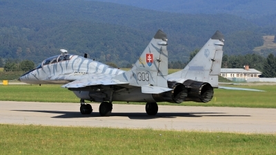 Photo ID 172956 by Milos Ruza. Slovakia Air Force Mikoyan Gurevich MiG 29UB 9 51, 1303