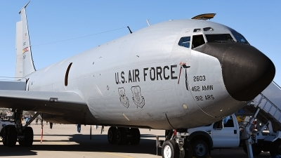 Photo ID 172945 by W.A.Kazior. USA Air Force Boeing KC 135R Stratotanker 717 148, 57 2603
