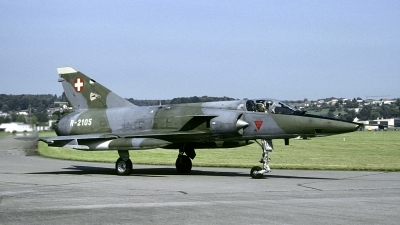 Photo ID 173165 by Joop de Groot. Switzerland Air Force Dassault Mirage IIIRS, R 2105