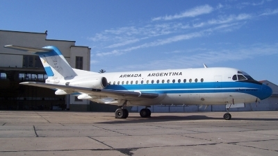 Photo ID 21139 by Martin Kubo. Argentina Navy Fokker F 28 3000C Fellowship, 0741