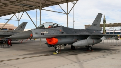 Photo ID 173315 by Johannes Berger. Netherlands Air Force General Dynamics F 16AM Fighting Falcon, J 063