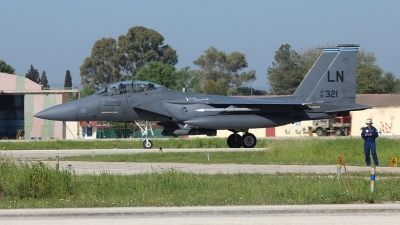 Photo ID 173376 by Stamatis Alipasalis. USA Air Force McDonnell Douglas F 15E Strike Eagle, 91 0321