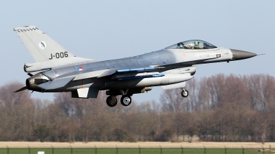 Photo ID 173514 by Carl Brent. Netherlands Air Force General Dynamics F 16AM Fighting Falcon, J 006