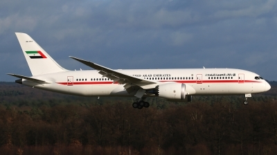 Photo ID 173445 by markus altmann. United Arab Emirates Government Boeing 787 8 Dreamliner, A6 PFC