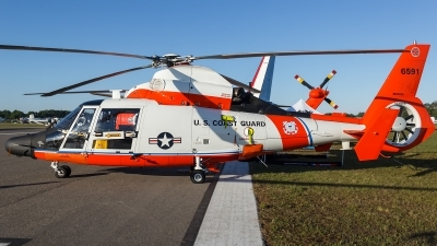 Photo ID 173552 by Hector Rivera - Puerto Rico Spotter. USA Coast Guard Aerospatiale MH 65D Dolphin SA 366G 1, 6591