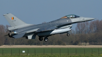 Photo ID 173680 by Rainer Mueller. Belgium Air Force General Dynamics F 16AM Fighting Falcon, FA 95