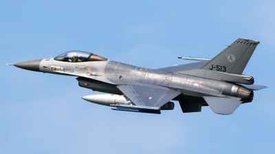 Photo ID 173769 by Walter Van Bel. Netherlands Air Force General Dynamics F 16AM Fighting Falcon, J 513