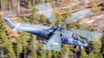 Photo ID 173787 by Sasha Beltyukov. Russia Air Force Mil Mi 35M, RF 91245
