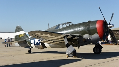 Photo ID 173886 by W.A.Kazior. Private Planes of Fame Air Museum Republic P 47G Thunderbolt, N3395G