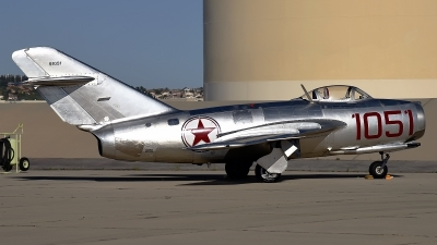 Photo ID 173864 by W.A.Kazior. Private Planes of Fame Air Museum Mikoyan Gurevich MiG 15bis, NX87CN
