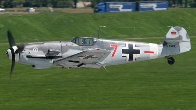 Photo ID 173941 by Chris Hauser. Private Messerschmitt Stiftung Messerschmitt Bf 109G 4, D FWME