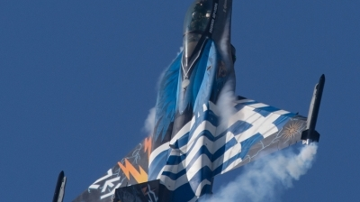 Photo ID 173942 by George Markakis. Greece Air Force General Dynamics F 16C Fighting Falcon, 523