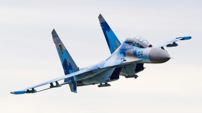 Photo ID 174021 by Igor Bubin. Ukraine Air Force Sukhoi Su 27UB, 69 BLUE