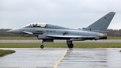 Photo ID 174294 by Carl Brent. Germany Air Force Eurofighter EF 2000 Typhoon T, 30 71