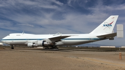 Photo ID 174289 by Thomas Ziegler - Aviation-Media. USA NASA Boeing 747SR 46 SCA, N911NA
