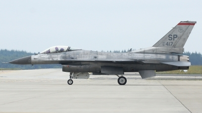 Photo ID 174316 by Tony Draps. USA Air Force General Dynamics F 16C Fighting Falcon, 91 0417