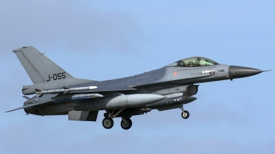 Photo ID 174470 by Thomas Ziegler - Aviation-Media. Netherlands Air Force General Dynamics F 16AM Fighting Falcon, J 055