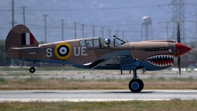 Photo ID 174558 by W.A.Kazior. Private Private Curtiss Kittyhawk IA P 40E, NX94466