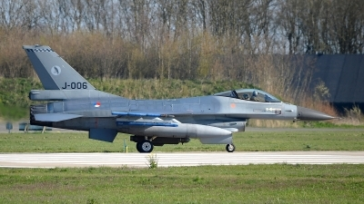 Photo ID 174635 by Peter Boschert. Netherlands Air Force General Dynamics F 16AM Fighting Falcon, J 006