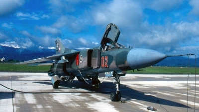 Photo ID 174587 by Chris Hauser. Hungary Air Force Mikoyan Gurevich MiG 23MF, 02
