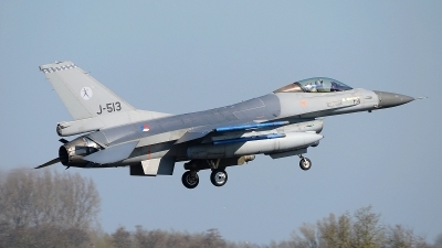 Photo ID 174775 by Peter Boschert. Netherlands Air Force General Dynamics F 16AM Fighting Falcon, J 513
